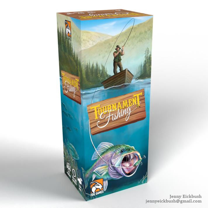 Jenny Eickbush_Tournament Fishing Box